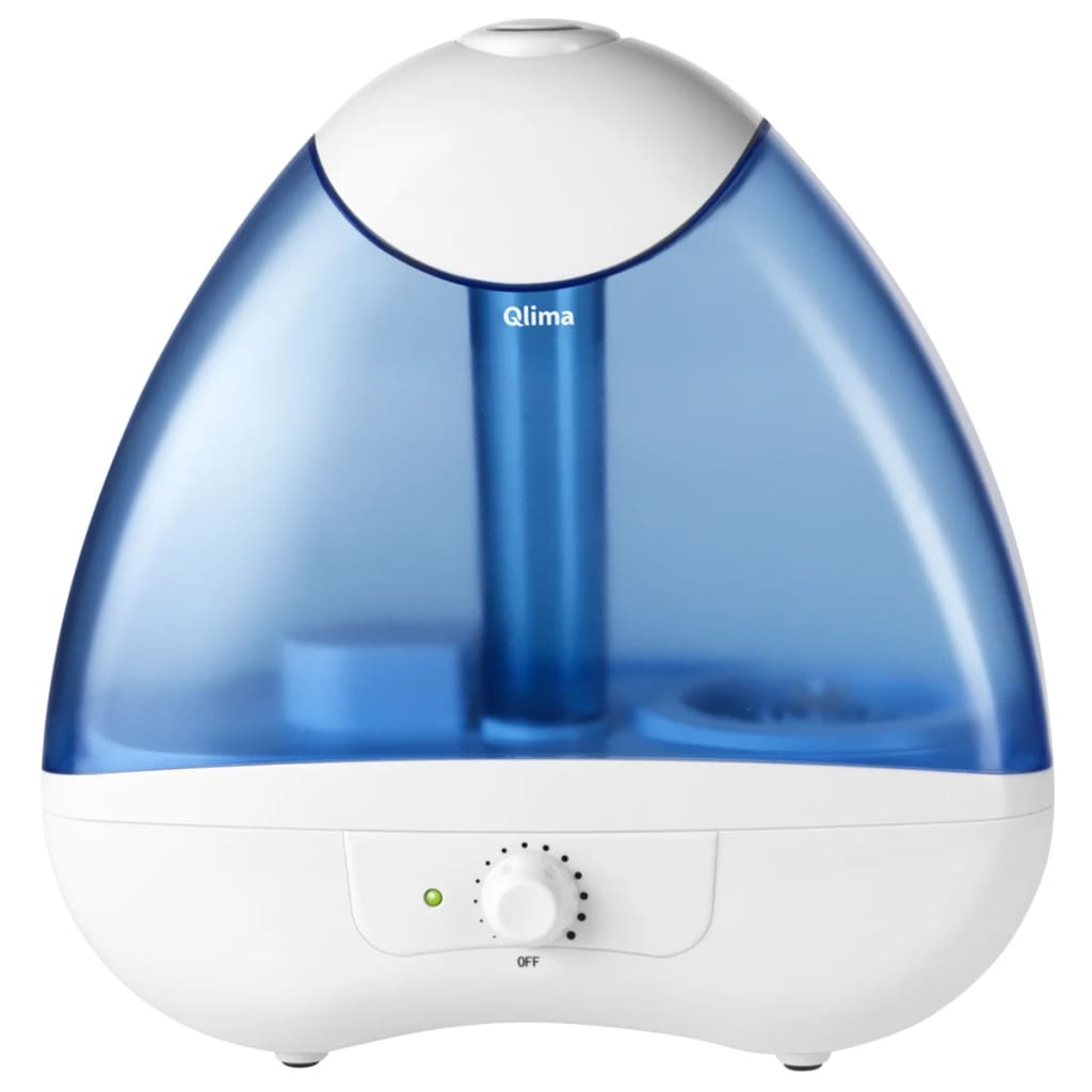 Afbeelding van Qlima Ultrasone luchtbevochtiger 25 W wit en blauw H 218