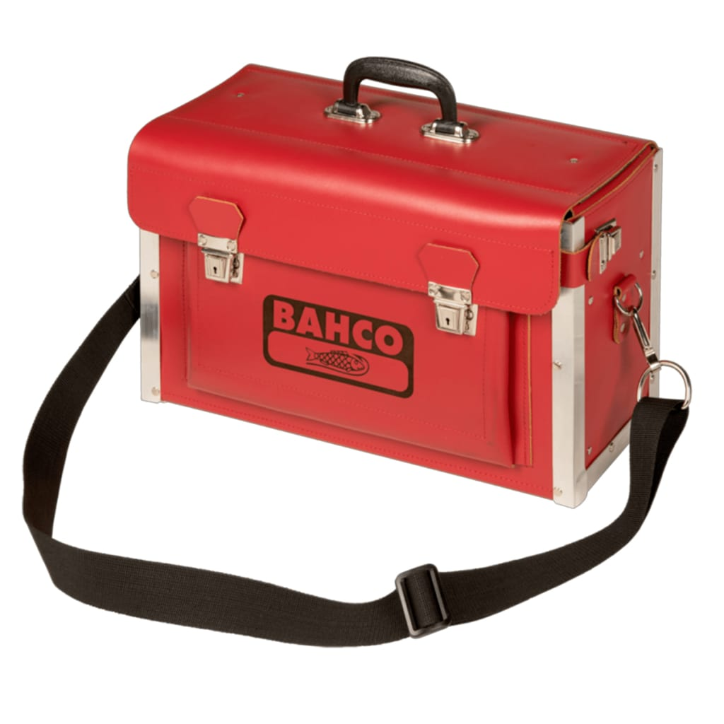 Afbeelding van BAHCO Elektricienskoffer 44,5x19x27 cm kunstleer 4750-VDEC