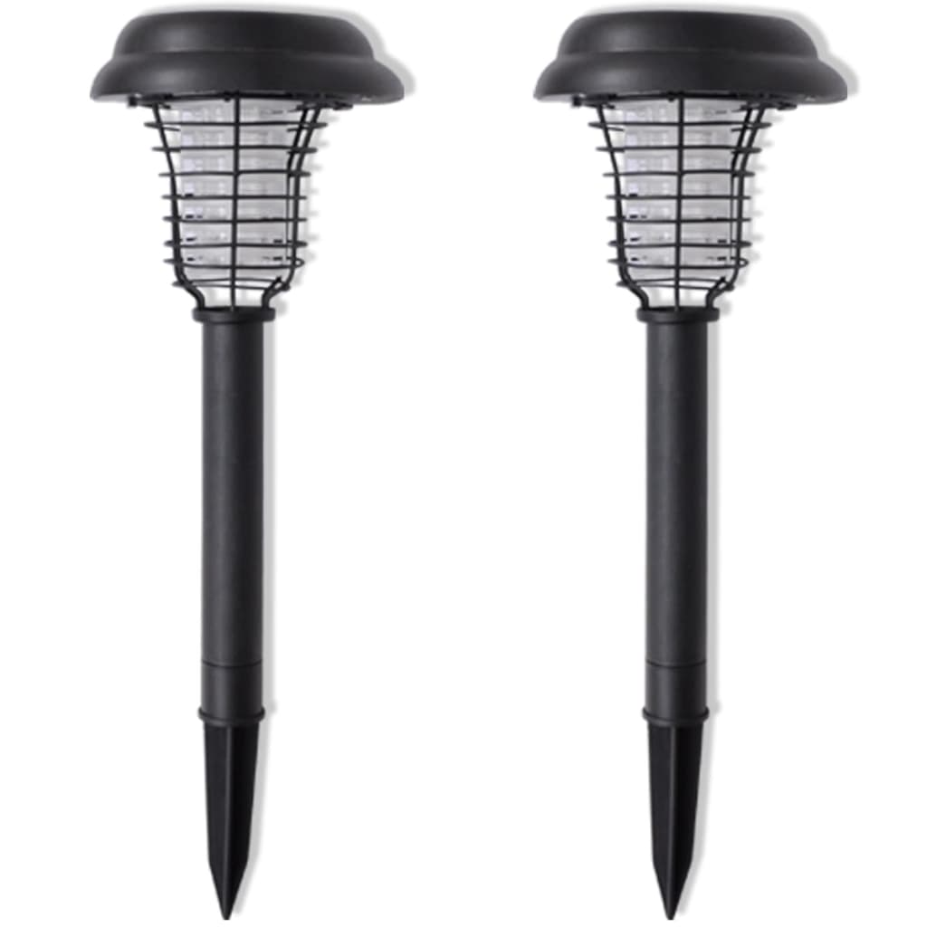 la boutique en ligne lampe solaire led anti moustiques anti insectes 2 pcs. Black Bedroom Furniture Sets. Home Design Ideas