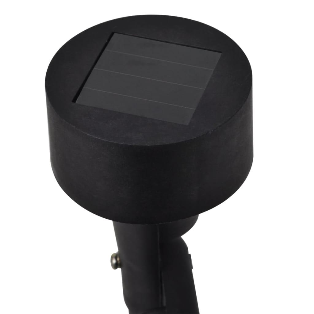 acheter spot led solaire noir 12 pi ces pas cher. Black Bedroom Furniture Sets. Home Design Ideas