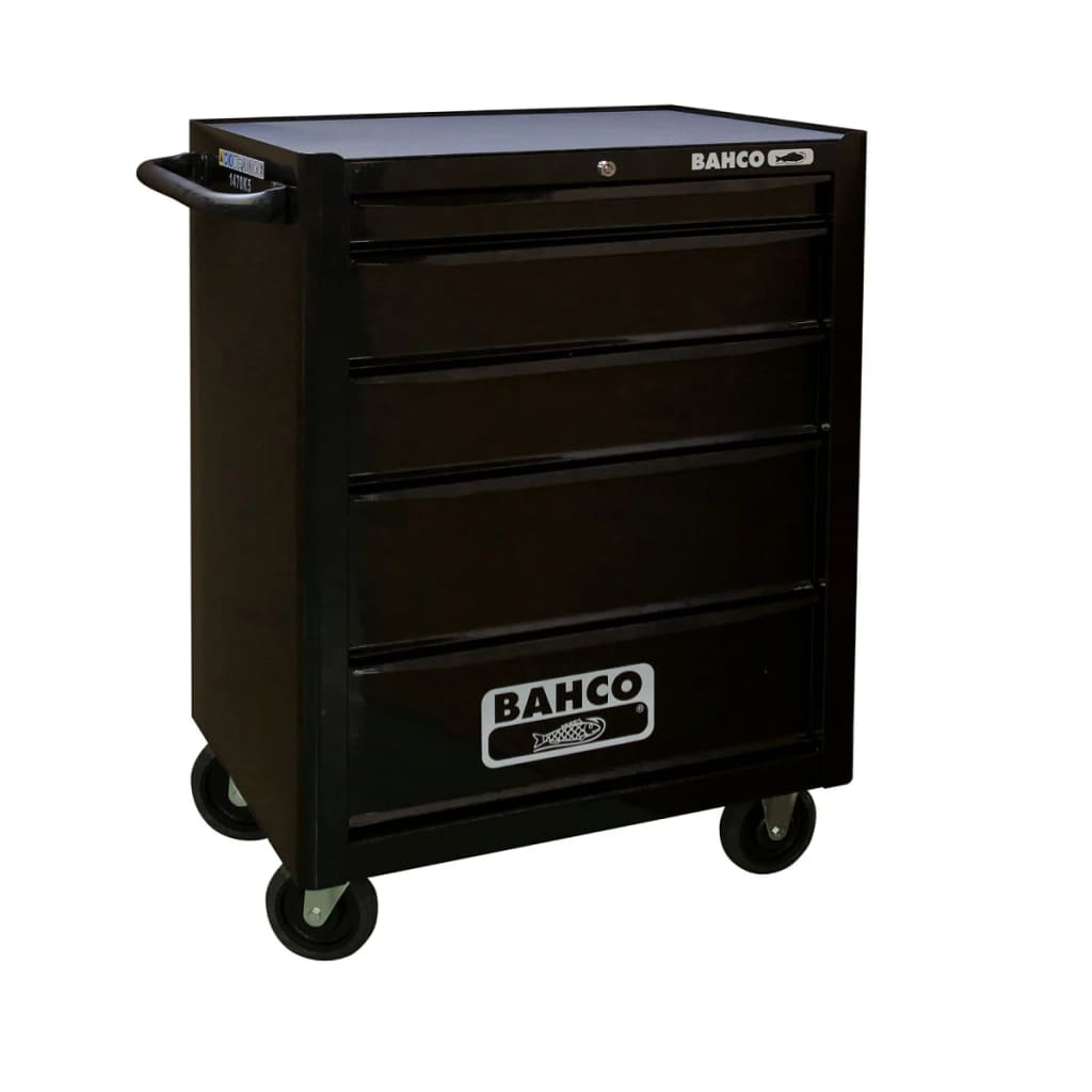 bahco tool chest with 130 tools 5 drawers 1470k5blackff2. Black Bedroom Furniture Sets. Home Design Ideas