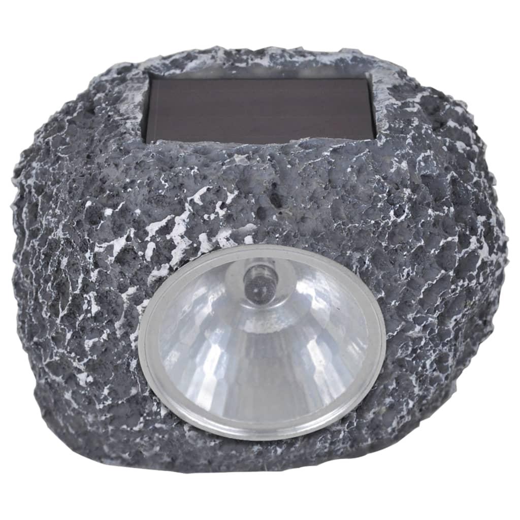 vidaXL nl   Buitenverlichting zonne energie LED tuinlamp steenvormig 12 stuks