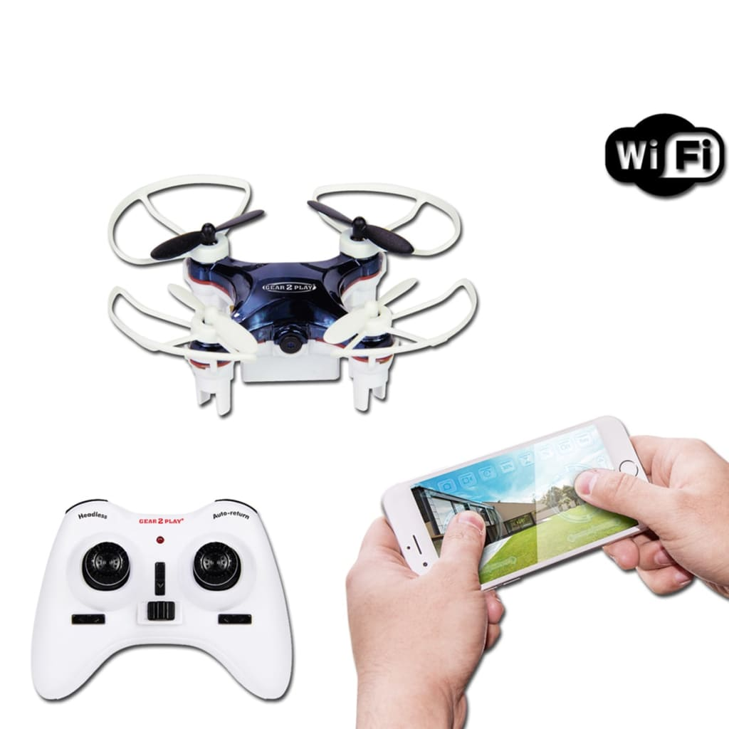 acheter gear2play drone nano smart avec cam ra tr80525 pas. Black Bedroom Furniture Sets. Home Design Ideas