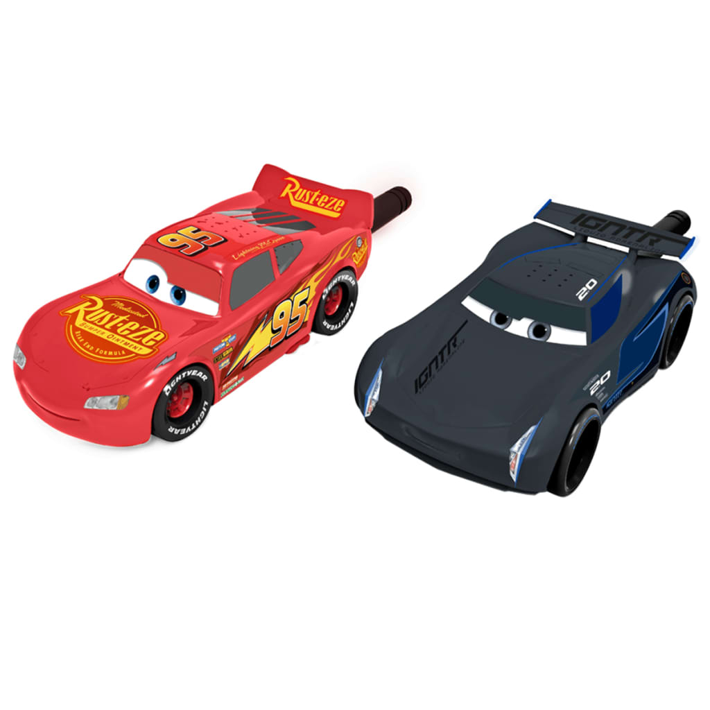 Afbeelding van iMC Toys Walkie talkie Cars grijs en rood IM250802
