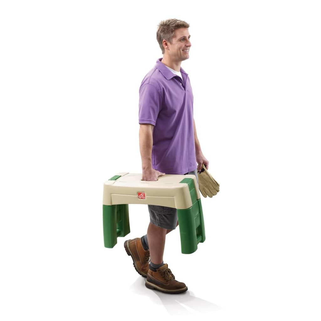acheter step2 agenouilloir si ge de jardin vert 534900 pas cher. Black Bedroom Furniture Sets. Home Design Ideas