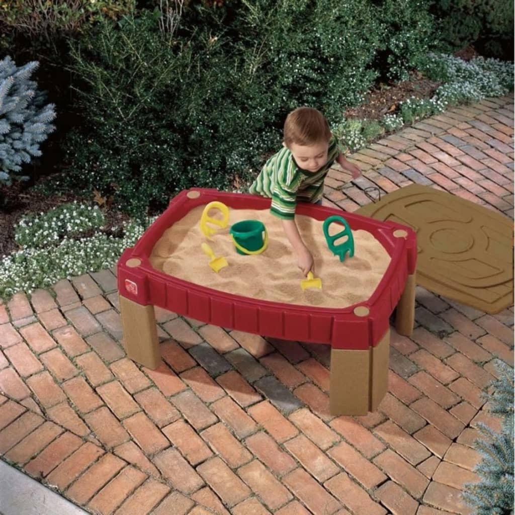 Step2 Table à sable Table de jeux pour enfants Naturally Playful Rouge