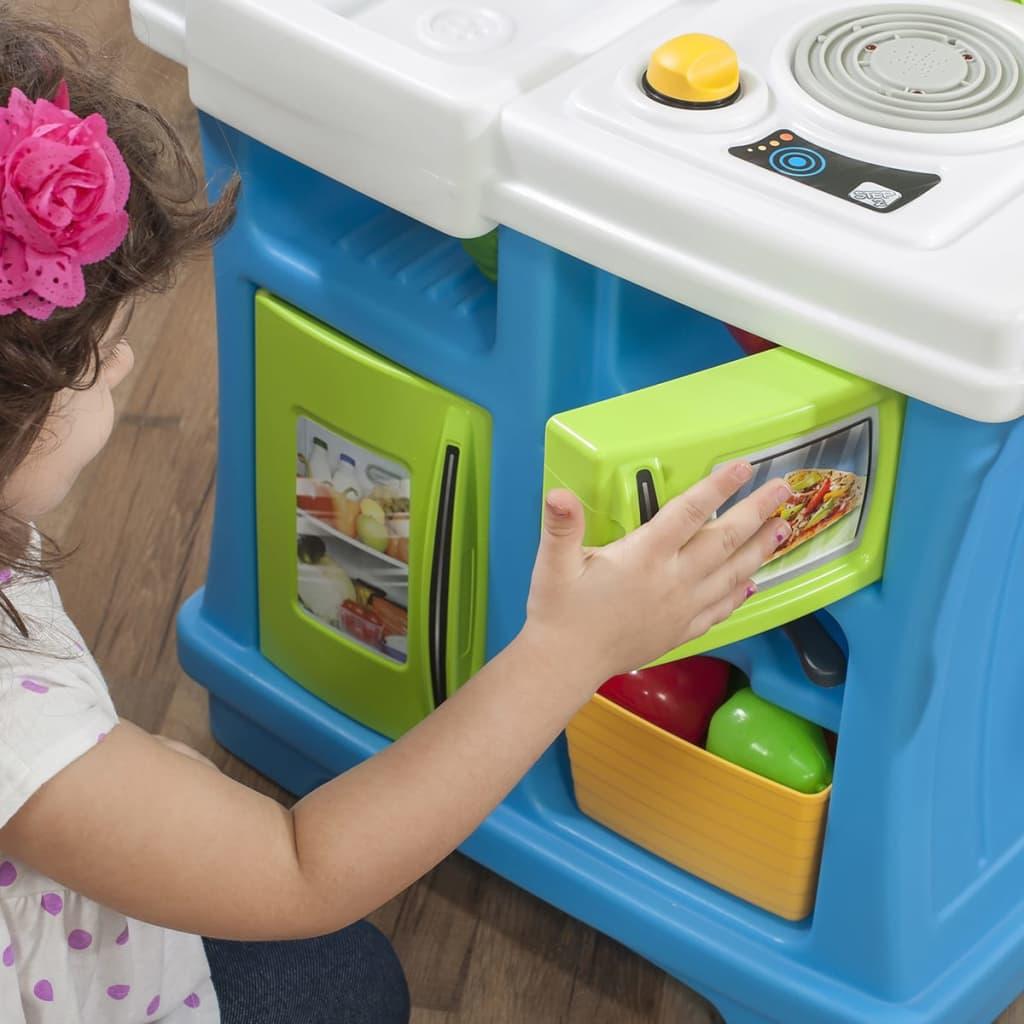 STEP2 Küche Spielset Kinderküche Spielküche Rollenspieles Little ...