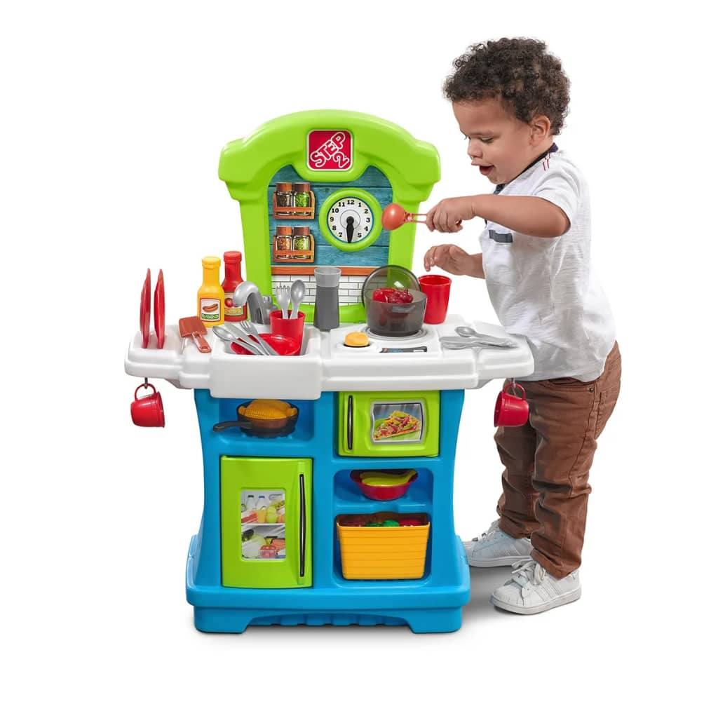 Step 2 Toy Food : Step kitchen playset little cooks vidaxl