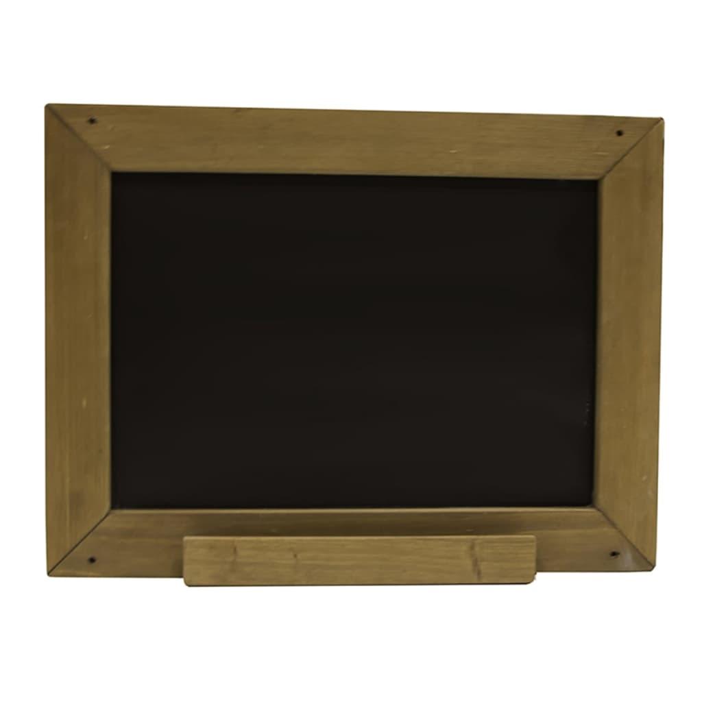 acheter axi tableau noir classique bois marron pas cher. Black Bedroom Furniture Sets. Home Design Ideas