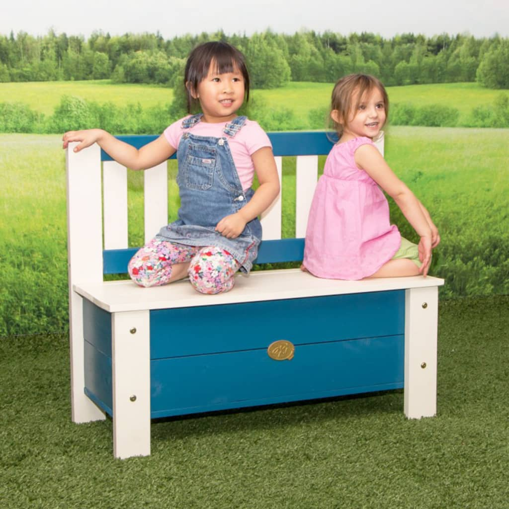 axi banc de rangement pour enfants moby bleu et blanc. Black Bedroom Furniture Sets. Home Design Ideas