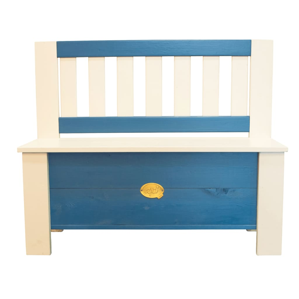 axi banc de rangement pour enfants moby bleu et blanc a031. Black Bedroom Furniture Sets. Home Design Ideas