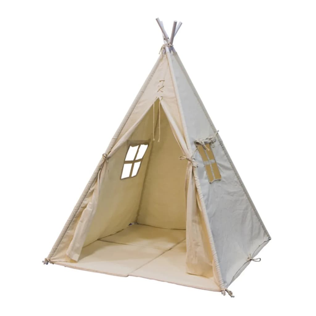 sunny tipi zelt alba creme wei g nstig kaufen. Black Bedroom Furniture Sets. Home Design Ideas