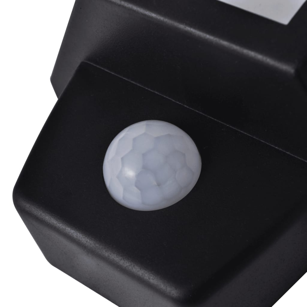 Wall Mounted Solar Powered Lights : vidaXL.co.uk Solar Wall Lamp with Motion Sensor