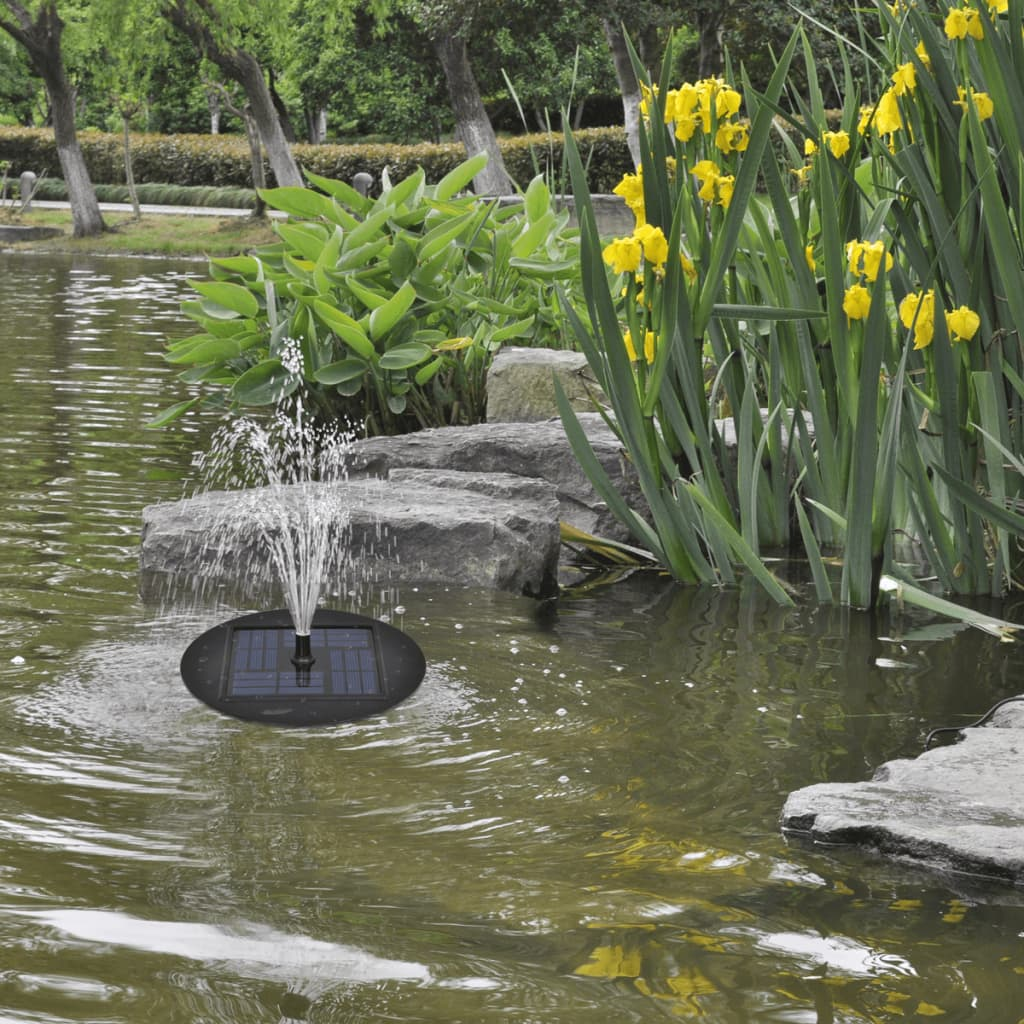 Solar fountain kit garden pond water pump for Pond water fountains
