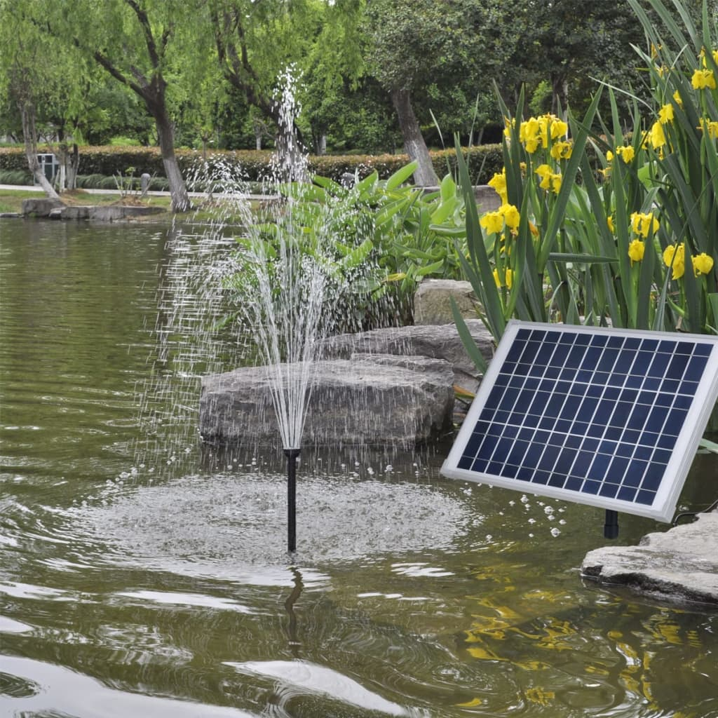 Solar panel pond pool water pump fountain kit 20 w www for Solar water pump pond