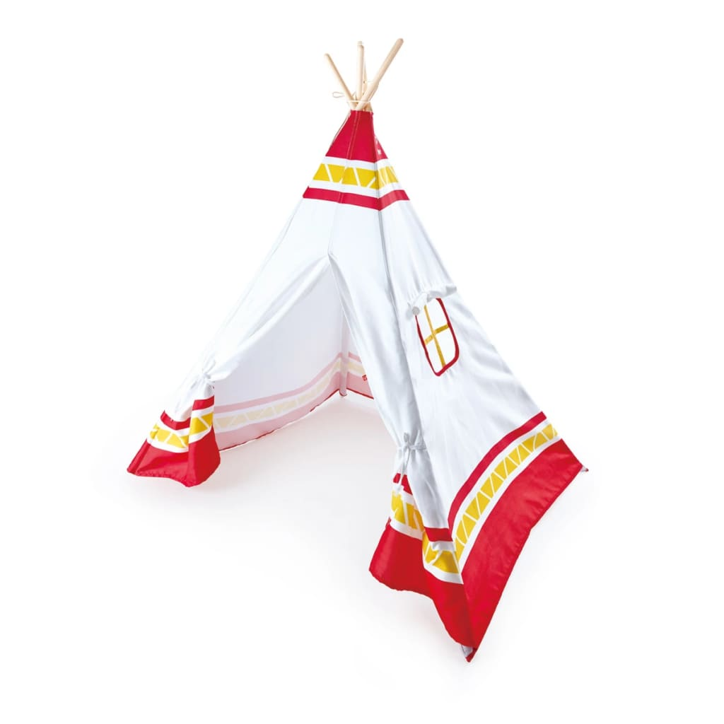 hape indianer tipi kinderzelt rot e4307 g nstig kaufen. Black Bedroom Furniture Sets. Home Design Ideas