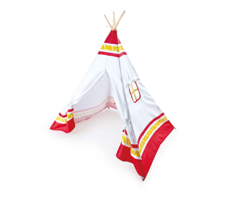 acheter hape tente tipi pour enfants rouge e4307 pas cher. Black Bedroom Furniture Sets. Home Design Ideas