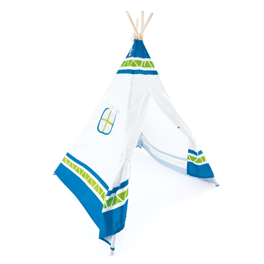 acheter hape tente tipi pour enfants bleu e4308 pas cher. Black Bedroom Furniture Sets. Home Design Ideas
