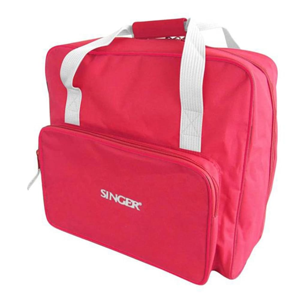 Singer carrying bag for sewing machine red vidaxl