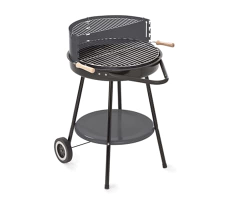 grillchef barbecue au charbon 48 5 cm noir. Black Bedroom Furniture Sets. Home Design Ideas