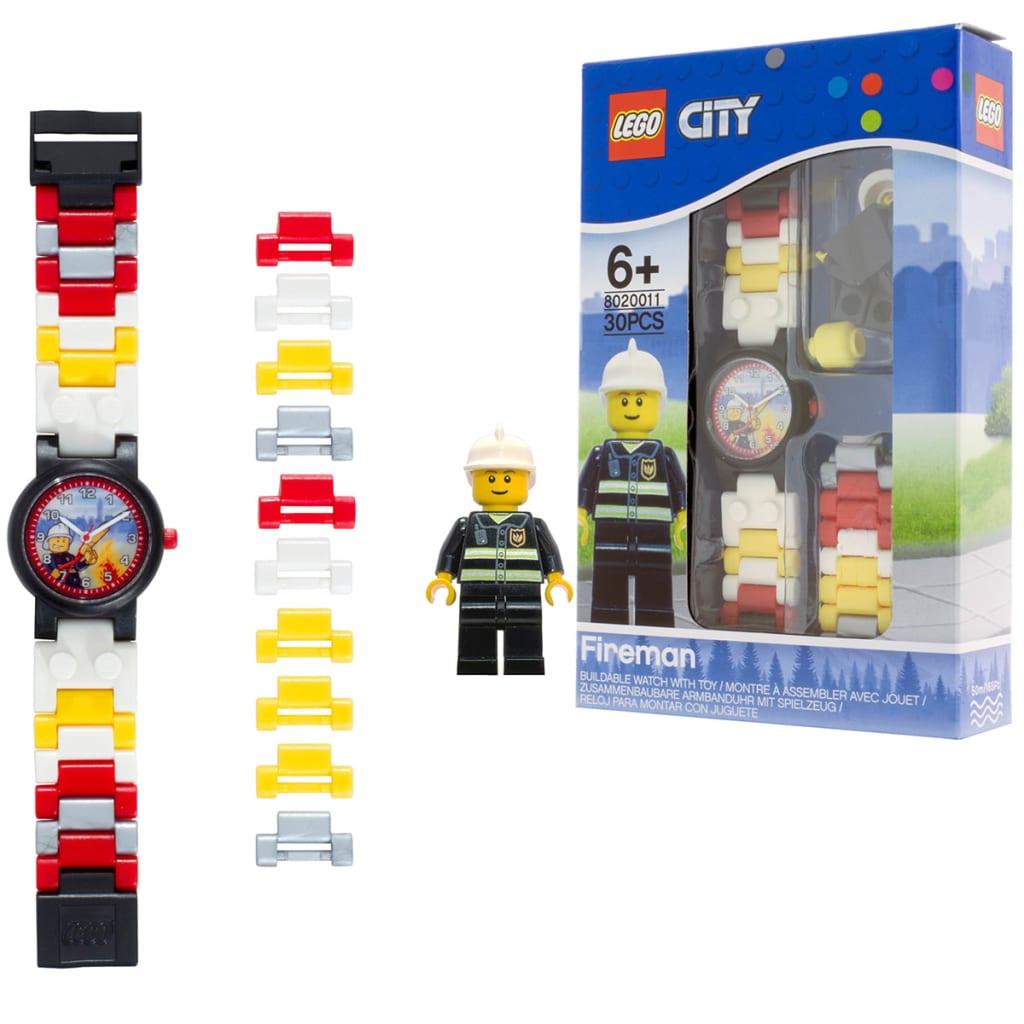 acheter lego city montre pompier plastique pas cher. Black Bedroom Furniture Sets. Home Design Ideas