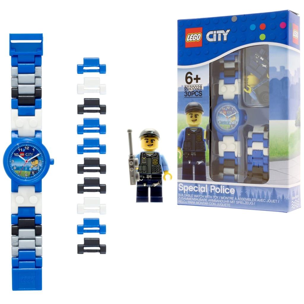 acheter lego city montre police plastique pas cher. Black Bedroom Furniture Sets. Home Design Ideas