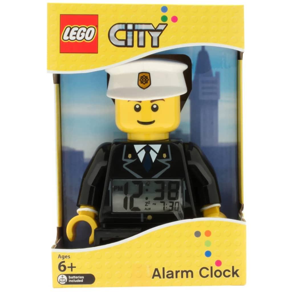 LEGO CiTY Alarm Clock Policeman Plastic 9002274 | vidaXL.co.uk