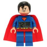 LEGO Heroes Wekker superman kunststof 9005701