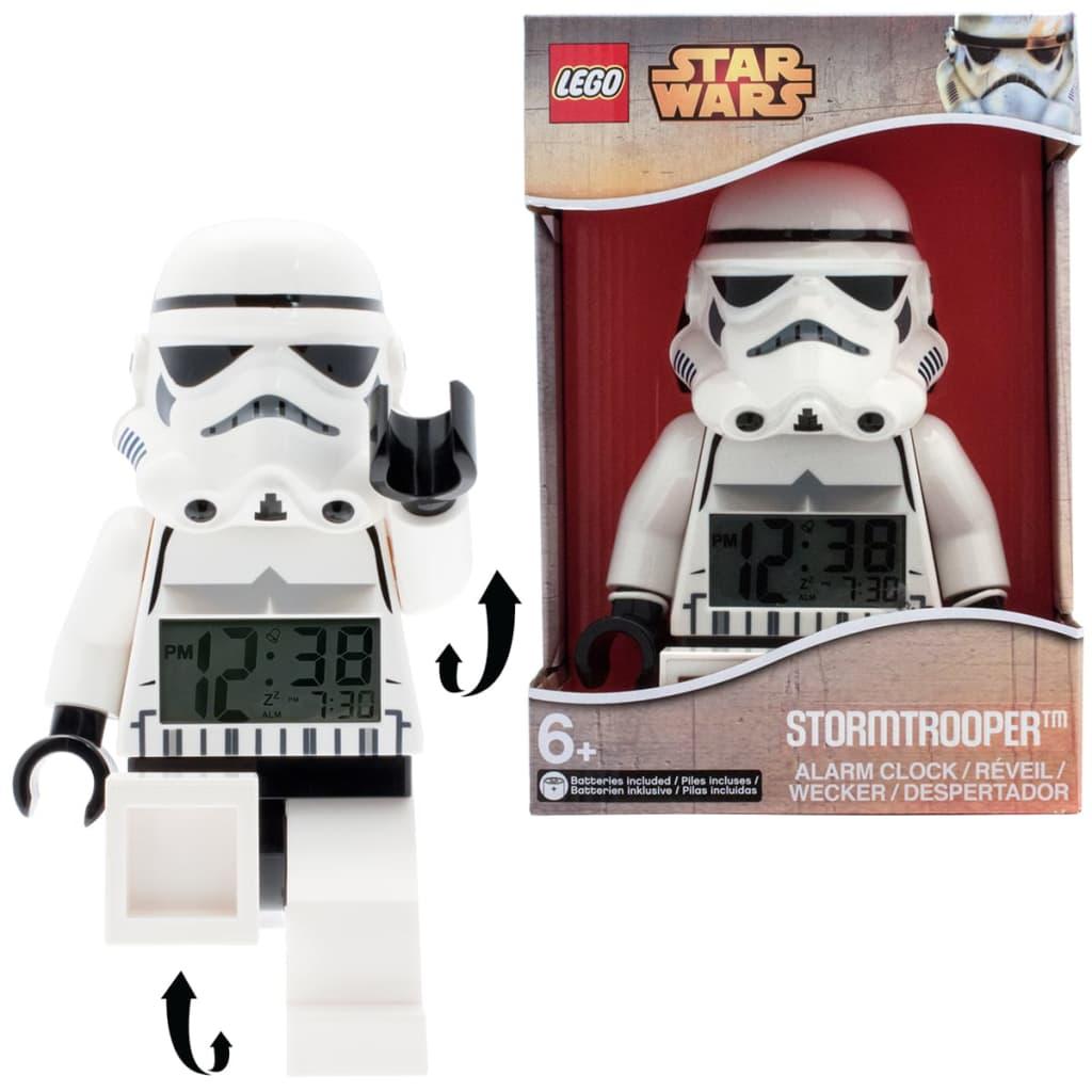 lego star wars alarm clock manual