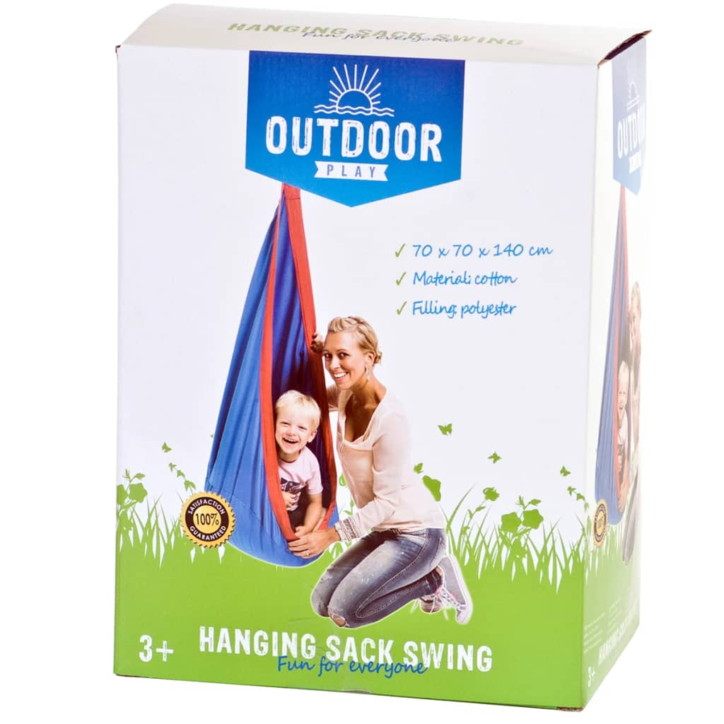 outdoor play hanging sack swing 45418. Black Bedroom Furniture Sets. Home Design Ideas