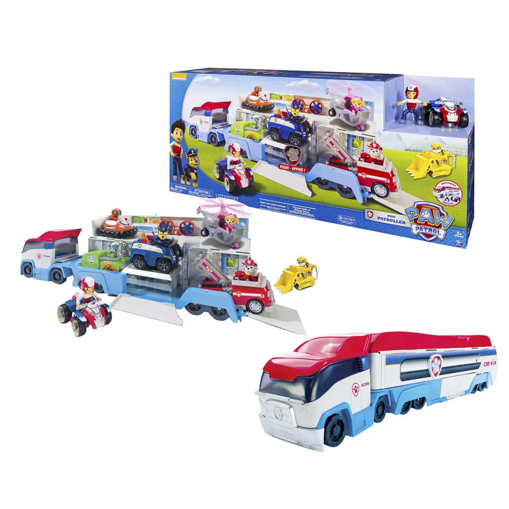 acheter spin master camion voitures paw patrol paw. Black Bedroom Furniture Sets. Home Design Ideas