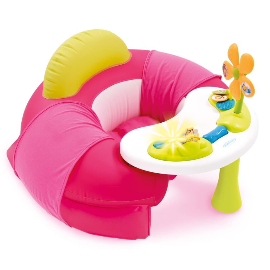 Afbeelding van Smoby Cotoons Opblaaszitje met speelblad roze 110211