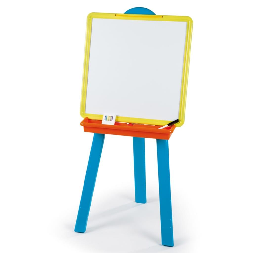 acheter smoby chevalet pour enfants plastique bleu 028076 pas cher. Black Bedroom Furniture Sets. Home Design Ideas