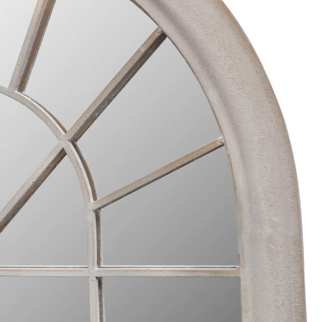 Acheter miroir de jardin arche rustique 116 x 60 cm int rieur et ext rieur pas cher - Miroir exterieur jardin ...