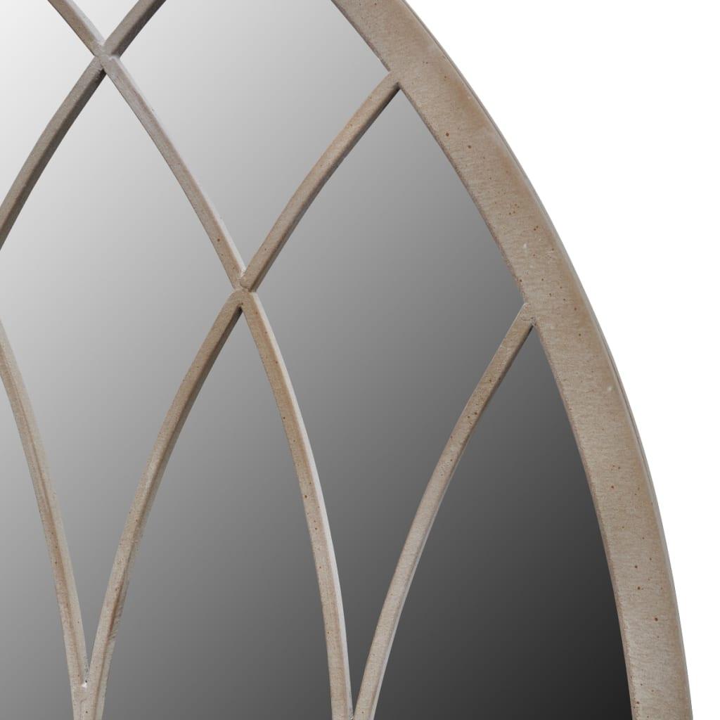 Acheter miroir de jardin arche rustique 115 x 50 cm int rieur et ext rieur pas cher - Miroir exterieur jardin ...