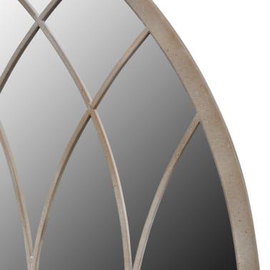 Gotisk Bågformad Trädgårdsspegel 115 x 50 cm[3/3]