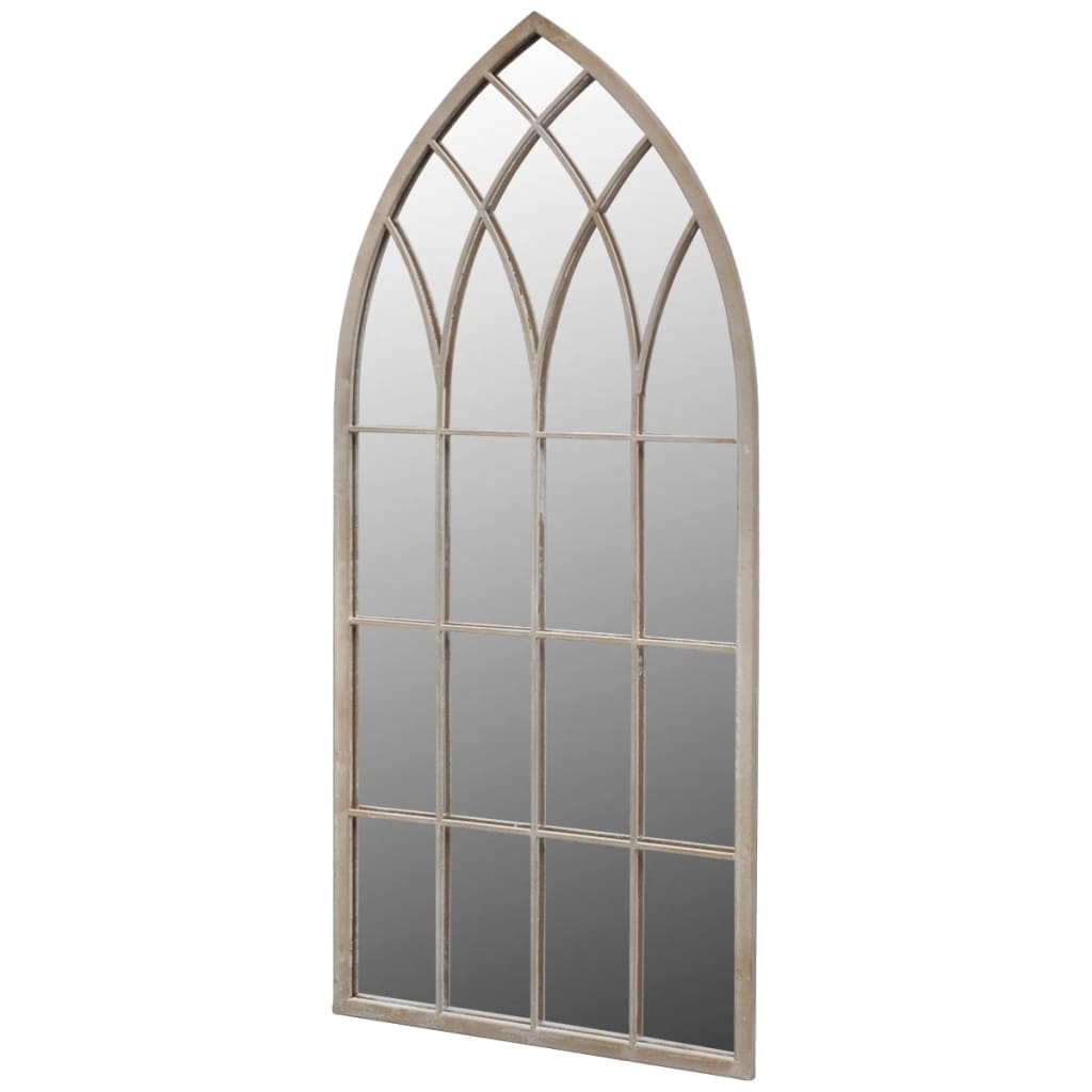 Miroir de jardin arche rustique 115 x 50 cm int rieur et for Miroir 50 x 150