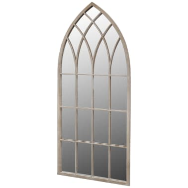Gotisk Bågformad Trädgårdsspegel 115 x 50 cm[1/3]
