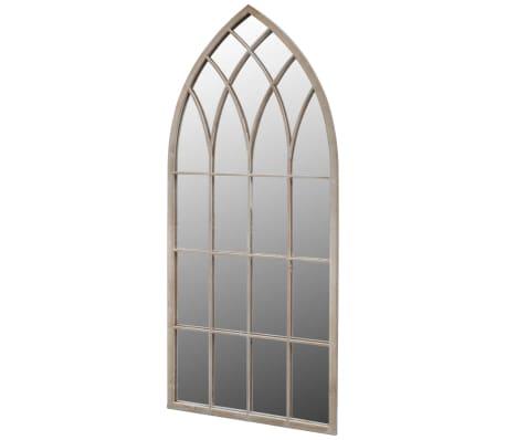 Gotisk Bågformad Trädgårdsspegel 115 x 50 cm