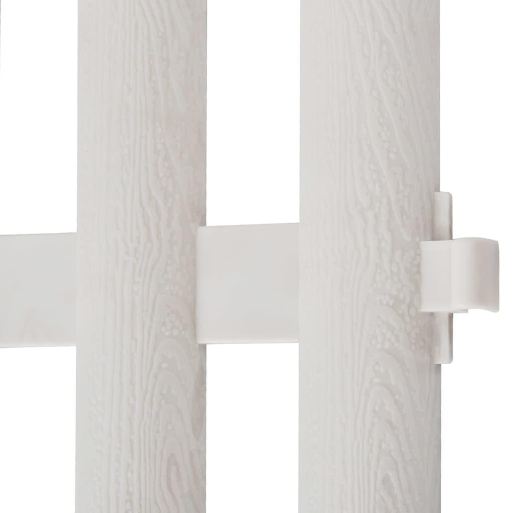 white lawn divider 17 pcs 10 m