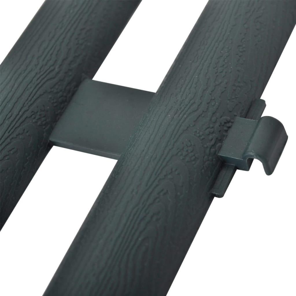 green lawn divider 17 pcs 10 m