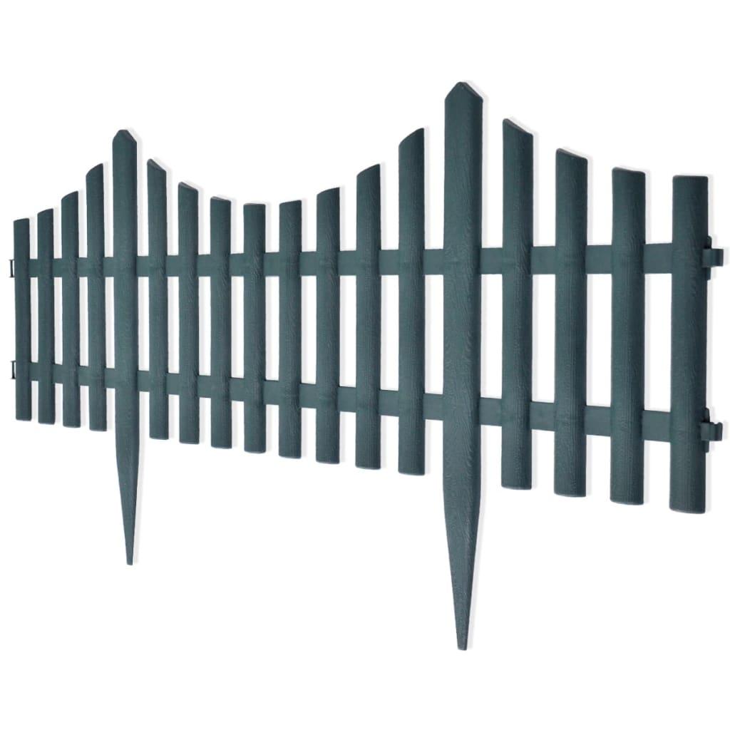 La boutique en ligne bordures de jardin vert 17 pi ces 10 for Jardin vert