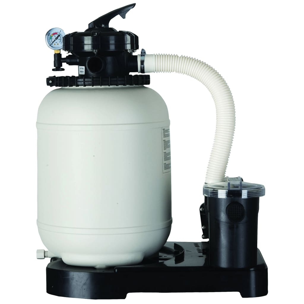 Handla gre pool set pacific rund 350 cm brun kit350wb for Pool set rund