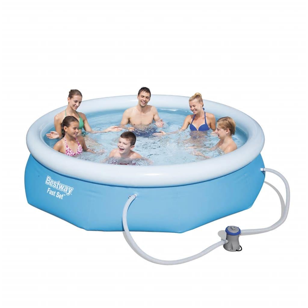acheter bestway piscine marin fast ronde 305 cm pas cher. Black Bedroom Furniture Sets. Home Design Ideas