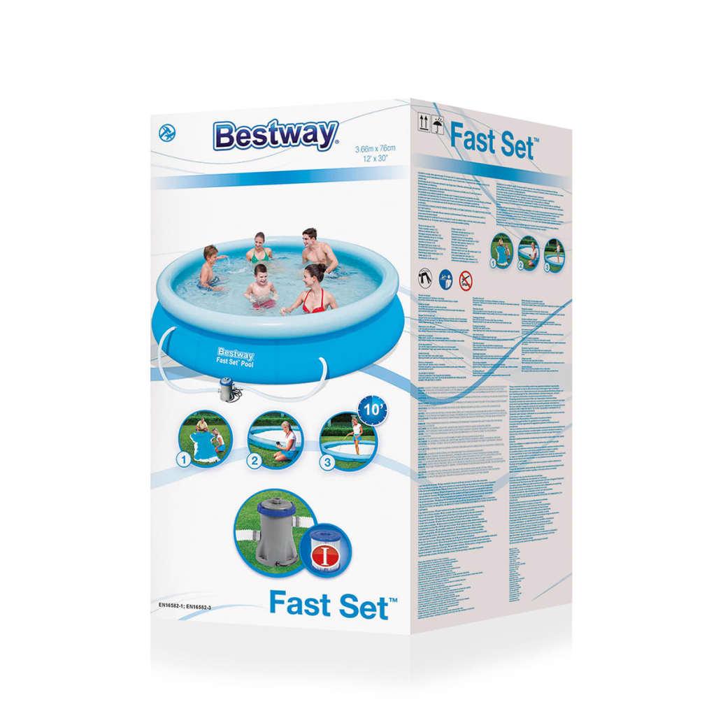 Acheter bestway piscine marin fast ronde 366 cm pas cher for Bestway piscine service com