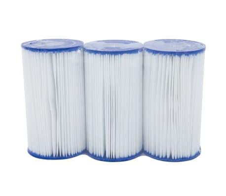 Acheter bestway filtre cartouche type iv 3 pi ces pas for Filtre piscine bestway type 2