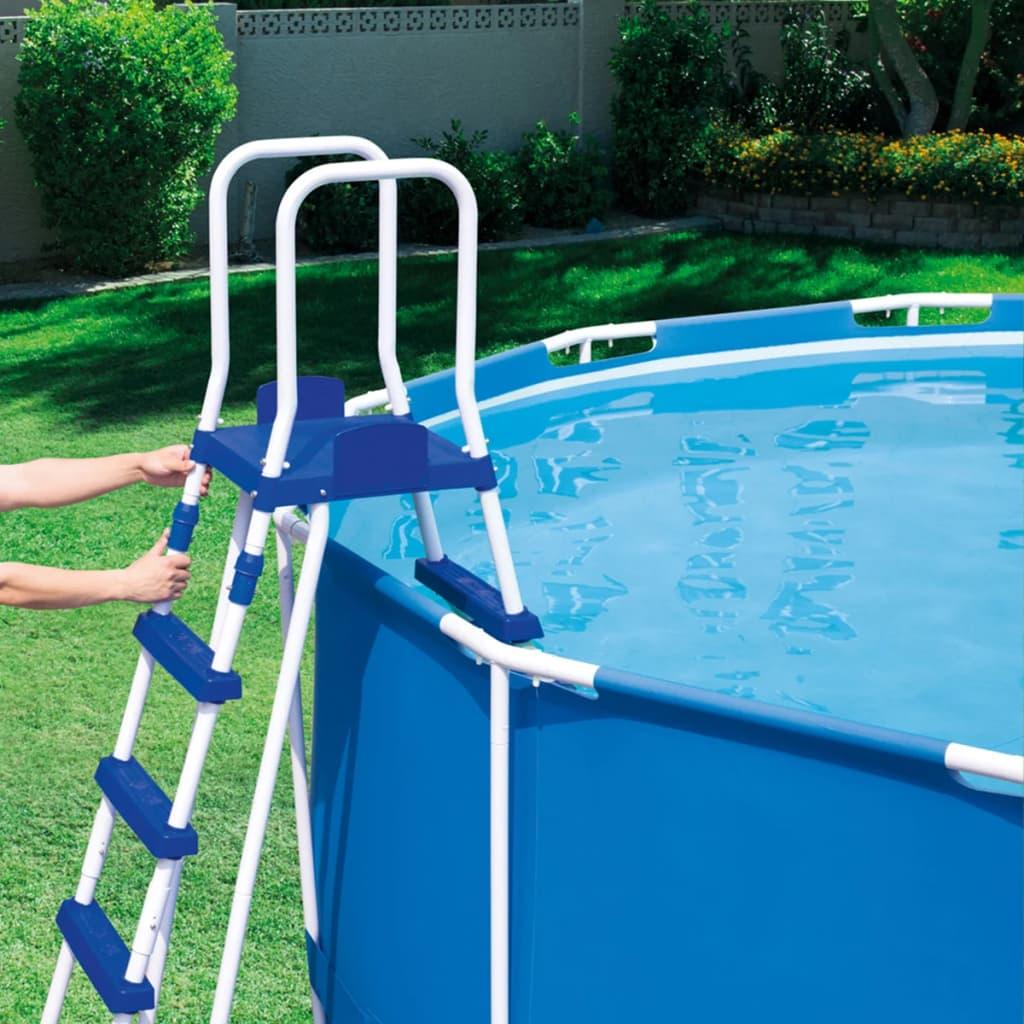 Vidaxl Co Uk Bestway 3 Step Pool Ladder 122 Cm 58331