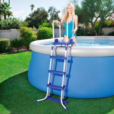 Acheter bestway chelle de piscine 3 marches 122 cm pas for Bestway piscine service com