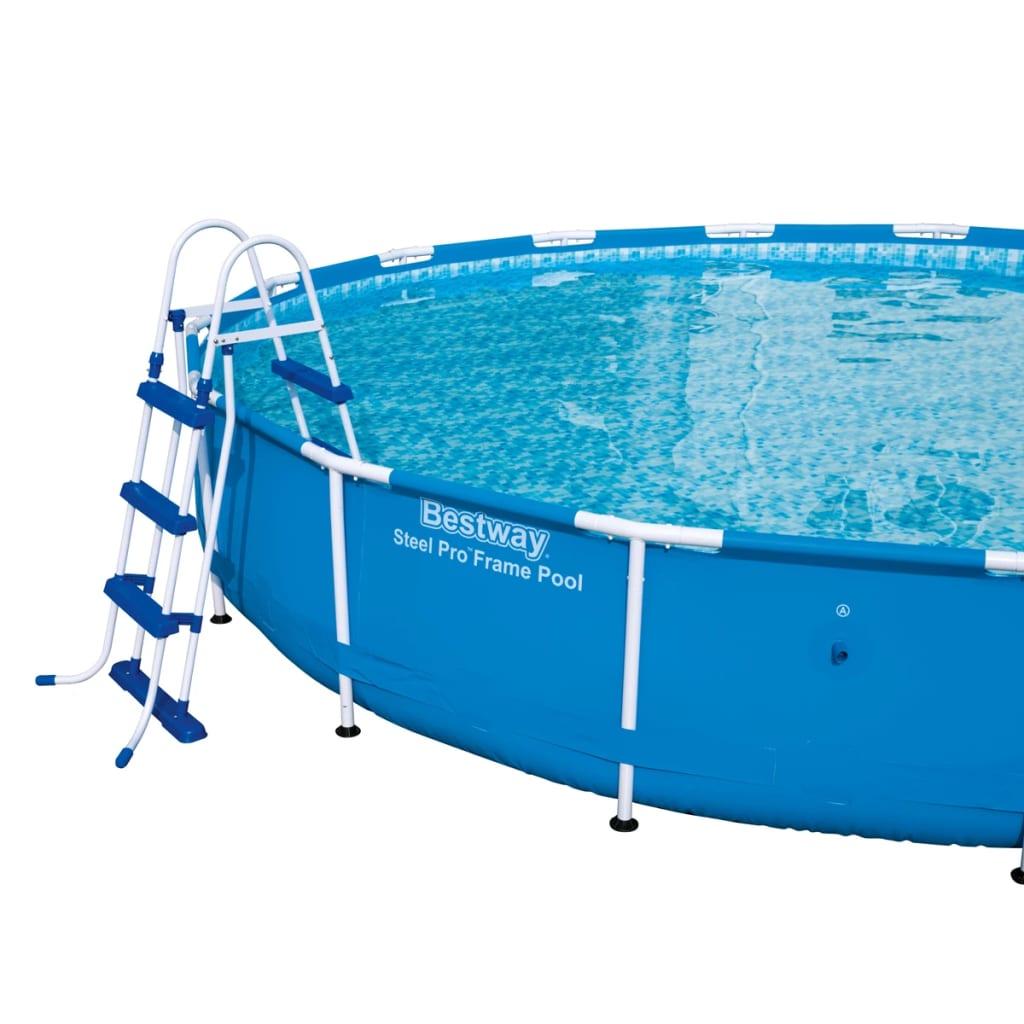Acheter bestway chelle de piscine 3 marches 107 cm pas for Bestway piscine service com