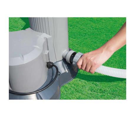 Bestway panneau solaire de chauffage pour piscine noir for Chauffage piscine solde